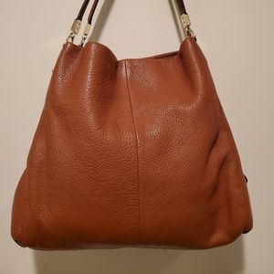 Coach Madison Leather Sm Phoebe Shoulder Bag